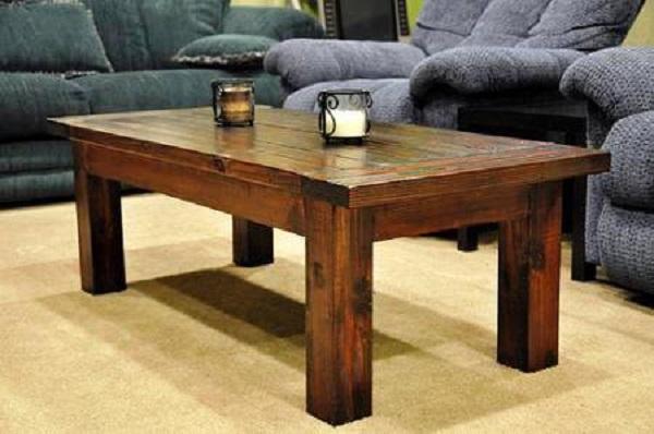Деревянные журнальные столы